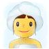 🧖 person in steamy room Emoji on Samsung Platform
