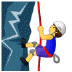 🧗♂️ man climbing Emoji on Samsung Platform