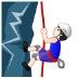 🧗🏻♂️ Light Skin Tone Man Rock Climbing Emoji on Samsung Platform