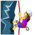 🧗‍♀️ woman climbing Emoji on Samsung Platform