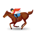 🏇 horse racing Emoji on Samsung Platform