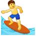 🏄♂️ man surfing Emoji on Samsung Platform