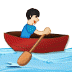 🚣🏻‍♂️ man rowing boat: light skin tone Emoji on Samsung Platform