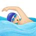 🏊🏻 person swimming: light skin tone Emoji on Samsung Platform
