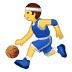 ⛹️ Person Bouncing Ball Emoji on Samsung Platform