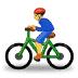 🚴 person biking Emoji on Samsung Platform