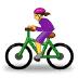 🚴♀️ woman biking Emoji on Samsung Platform