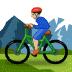 🚵🏼♂️ man mountain biking: medium-light skin tone Emoji on Samsung Platform