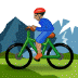 🚵🏽‍♂️ man mountain biking: medium skin tone Emoji on Samsung Platform