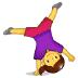 🤸♀️ woman cartwheeling Emoji on Samsung Platform