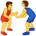 🤼 people wrestling Emoji on Samsung Platform