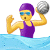 🤽‍♀️ Woman Playing Water Polo Emoji on Samsung Platform