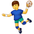 🤾 person playing handball Emoji on Samsung Platform