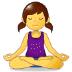 🧘 person in lotus position Emoji on Samsung Platform