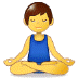🧘‍♂️ man in lotus position Emoji on Samsung Platform