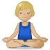 🧘🏼‍♂️ Medium Light Skin Tone Man In Lotus Position Emoji on Samsung Platform