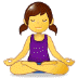🧘♀️ Woman In Lotus Position Emoji on Samsung Platform