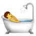 🛀 person taking bath Emoji on Samsung Platform