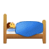 🛌 person in bed Emoji on Samsung Platform