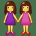 👭 women holding hands Emoji on Samsung Platform