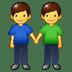 👬 Men Holding Hands Emoji on Samsung Platform