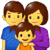 👨‍👩‍👧 family: man, woman, girl Emoji on Samsung Platform