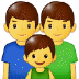 👨‍👨‍👦 Family With Man, Man And Boy Emoji on Samsung Platform