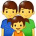 👨👨👧 family: man, man, girl Emoji on Samsung Platform