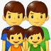 👨👨👧👦 family: man, man, girl, boy Emoji on Samsung Platform