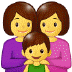 👩‍👩‍👦 Family With Woman, Woman And Boy Emoji on Samsung Platform