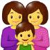 👩👩👦 family: woman, woman, boy Emoji on Samsung Platform