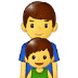👨‍👦 family: man, boy Emoji on Samsung Platform