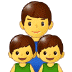 👨👦👦 family: man, boy, boy Emoji on Samsung Platform