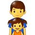 👨👧 family: man, girl Emoji on Samsung Platform