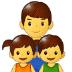 👨👧👦 family: man, girl, boy Emoji on Samsung Platform