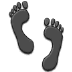 👣 footprints Emoji on Samsung Platform