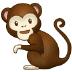 🐒 monkey Emoji on Samsung Platform