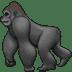 🦍 gorilla Emoji on Samsung Platform