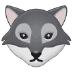 🐺 wolf Emoji on Samsung Platform