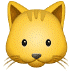 🐱 cat face Emoji on Samsung Platform