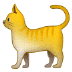 🐈 cat Emoji on Samsung Platform