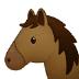 🐴 horse face Emoji on Samsung Platform