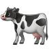 🐄 cow Emoji on Samsung Platform