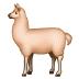 🦙 llama Emoji on Samsung Platform
