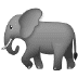 🐘 elephant Emoji on Samsung Platform