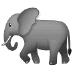 🐘 elephant Emoji on Samsung Platform