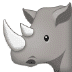 🦏 rhinoceros Emoji on Samsung Platform