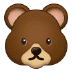 🐻 bear Emoji on Samsung Platform