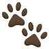🐾 paw prints Emoji on Samsung Platform