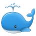 🐳 spouting whale Emoji on Samsung Platform